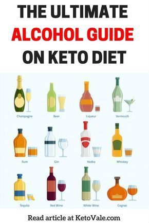 what alcohol is ok for keto diet