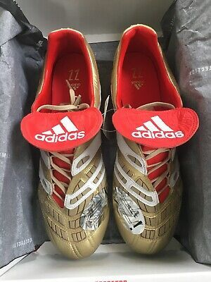 Advertisement Ebay Adidas Predator Accelerator Zidane Beckham Fg F37076 Us Size 10 5 Uk 10 Adidas Predator Youth Soccer Cleats Cleats Shoes