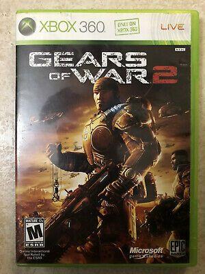 Gears Of War 2 Microsoft Xbox 360 2008 Good Condition Gears Of War 2 Gears Of War Xbox 360 Video Games