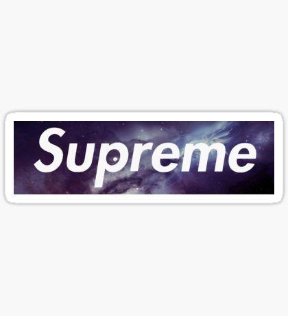 Galaxy Stickers Supreme Sticker Galaxy Laptop Stickers
