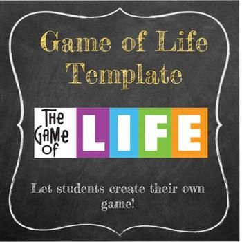 Looking For A Fun Way To Get Your Students Talking Moving And Collaborating Look No Further This Templat No Game No Life Board Game Template Life Board Game