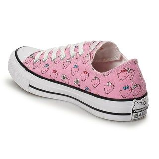 3c19b11060142 Converse Women's Hello Kitty Chuck Taylor All Star Sneakers ...
