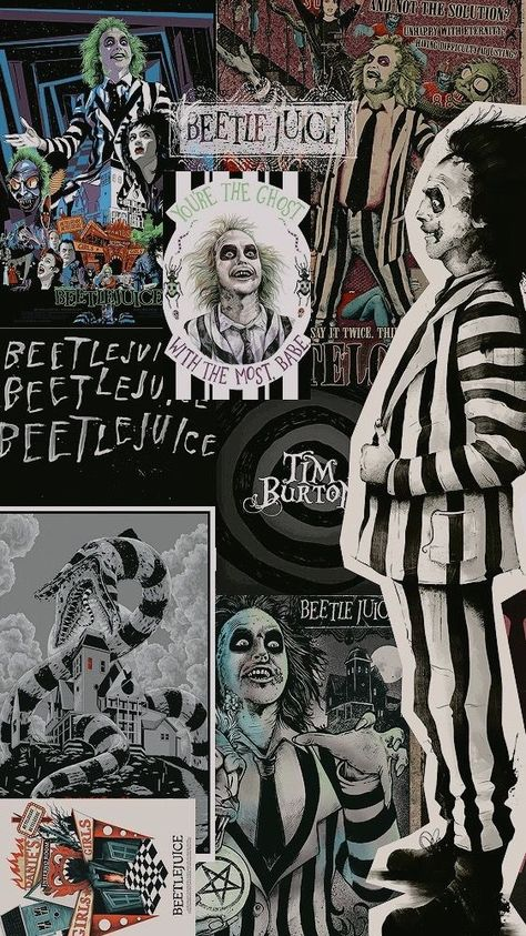 Beetle Juice 💚🖤 shared by Mela on We Heart It