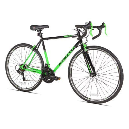 Kent 700c Roadtech Men S Bike Black Green Walmart Com Man Bike Bike Ride Bicycle