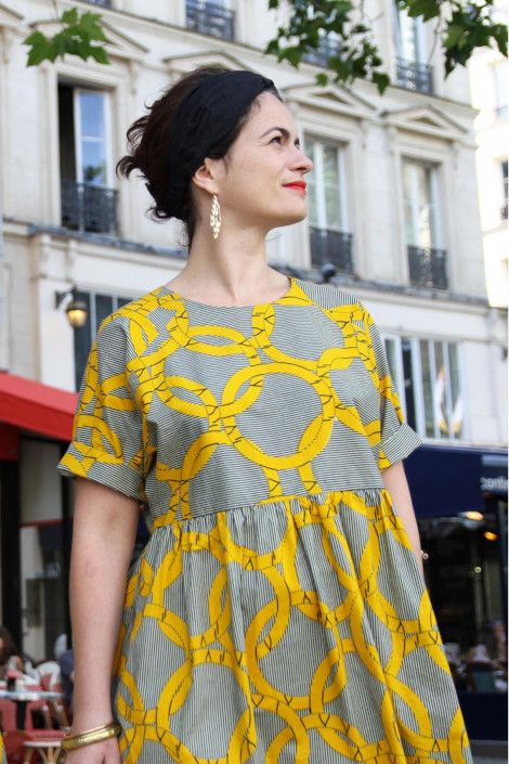 Coudre votre premier vêtement : 10 patrons pour les débutantes   LOUISE