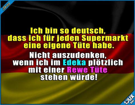 Alles muss seine Ordnung haben! ^^  #Deutschland #Rewe #Edeka #Aldi #Lidl #Einkaufstüten #einkaufen #Humor