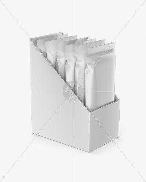 Download Box With Sachets Mockup In Box Mockups On Yellow Images Object Mockups Box Mockup Mockup Free Psd Mockup PSD Mockup Templates