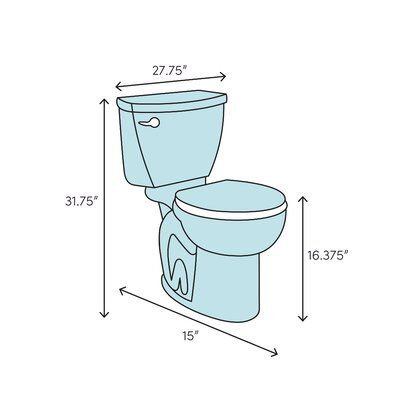 Eago 1 28 Gpf Elongated One Piece Toilet Seat Included In 2020 Toilet Wood Bridge Toilet Bowl
