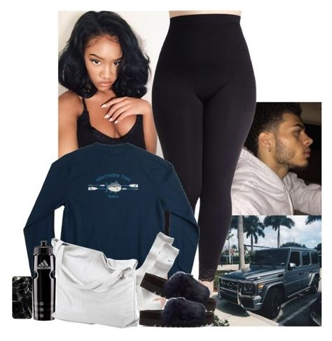 Monday A fashion look from February 2017 by jemilaa featuring Gap, Undercover, chissene, Southern Tide and adidas Swag Outfits For Girls, Lazy Day Outfits, Cute Swag Outfits, Chill Outfits, Teen Fashion Outfits, Teenager Outfits, Dope Outfits, College Outfits, Polyvore Outfits