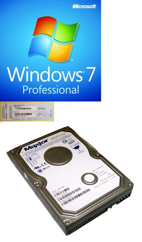windows 7 professional 32 64 bit full version