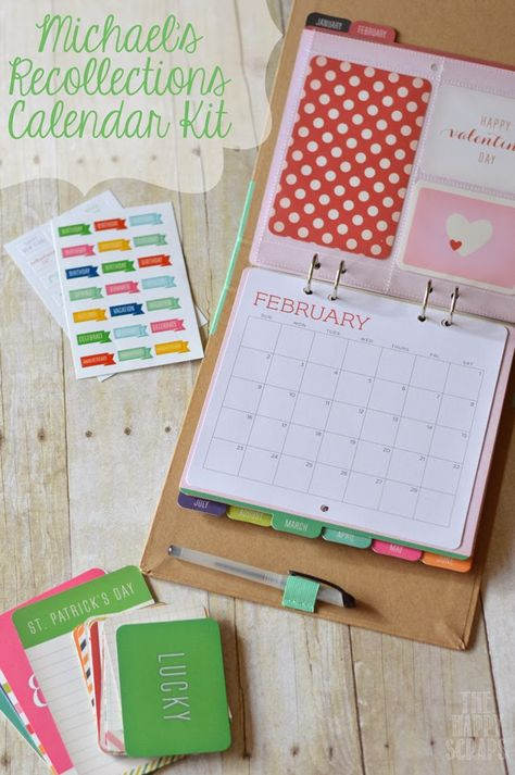 The Happy Scraps: Michael's Calendar Kit