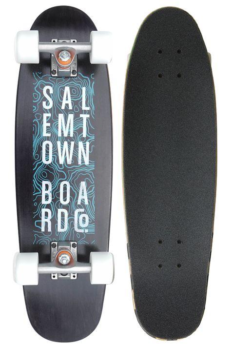 BTFL Surfskate Moby Complete Longboard Carver Deck Surf Skate Cruiser