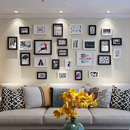 Wall Covering Ideas For Living Room Luxury Simple Modern Living Room Photo Wall Decoration Ide Dekorasi Dinding Ruang Tamu Dekorasi Ruang Tamu Warna Ruang Tamu