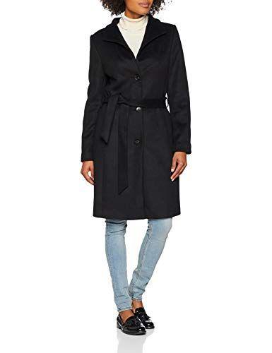 Esprit Collection Damen Mantel 088eo1g033 Schwarz Black 001 X Large Schwarz Jacken Mantel