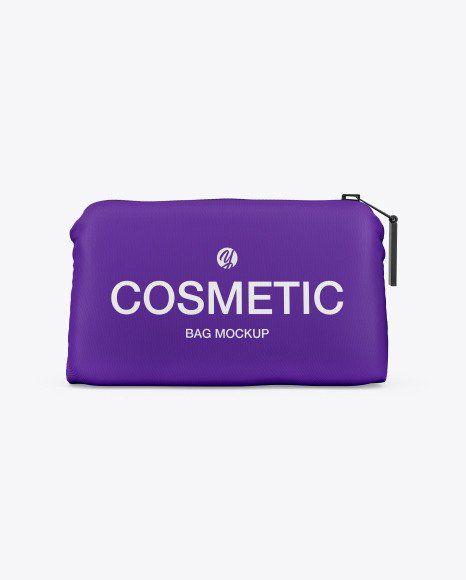 Download Makeup Pouch Mockup Bag Mockup Design Mockup Free Makeup Pouch