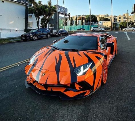 What do you think about this tiger color comment Bellow and share it with a frie… – En Güncel Araba Resimleri Cool Sports Cars, Sport Cars, Cool Cars, Motor Sport, Rubber Band Car, Rich Cars, Top Luxury Cars, Lamborghini Cars, Fancy Cars
