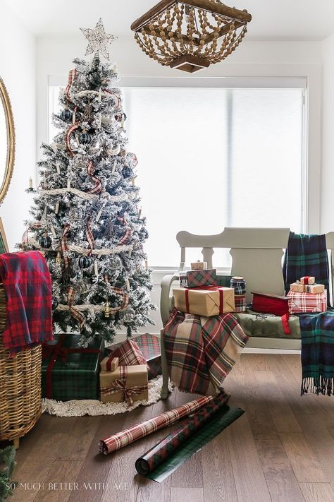 Get The Decor For Your Rooms By Using The Plaid Throw Blanket 6 On Sale Near Me Ideas Plaid Christmas Decor French Country Decorating Holiday Decor