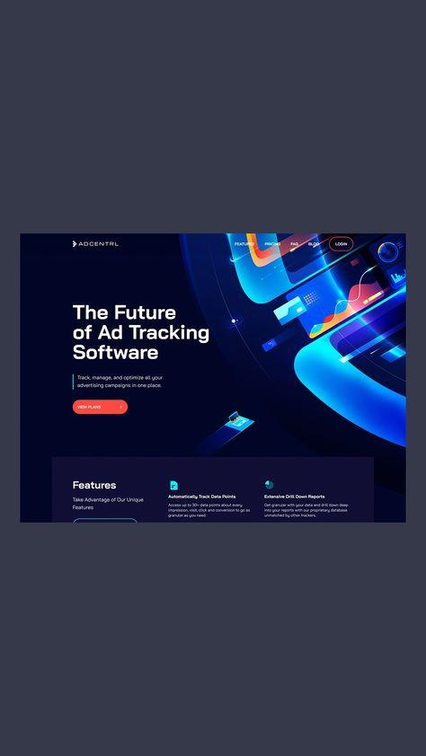 Analytics Software Homepage