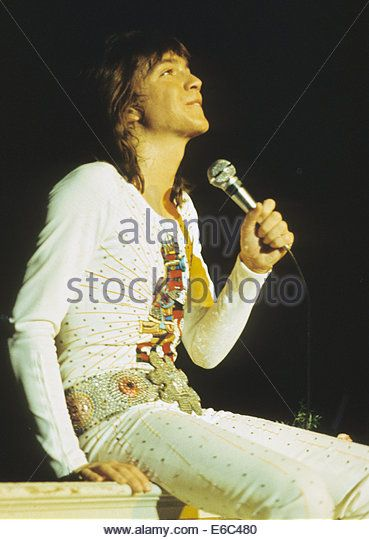 DAVID CASSIDY American pop singer about 1975 Stock Image