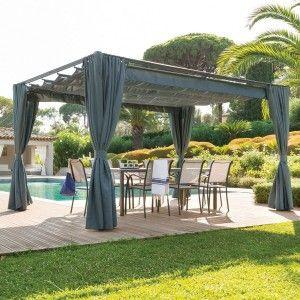 Cenador Toldo Y Lona Para Disfrutar De La Sombra Eminza 2 Pergola Outdoor Structures Diy Pergola