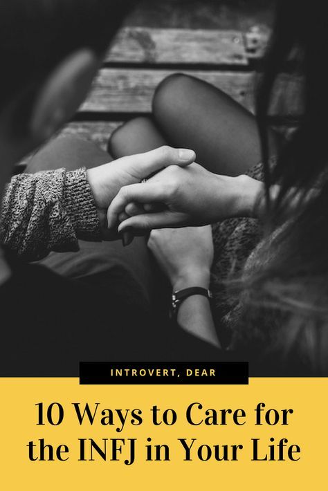 If you love an INFJ personality, here are ten ways to show that you care. #INFJ #INFJrelationships #16personalities #MBTI #MyersBriggs #personalitytype #personality
