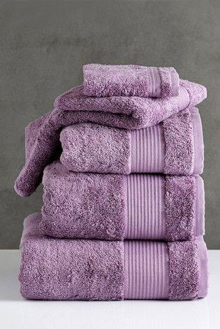 Next Egyptian Cotton Mauve Towels Egyptian Cotton Towels Cotton Towels Purple Towels