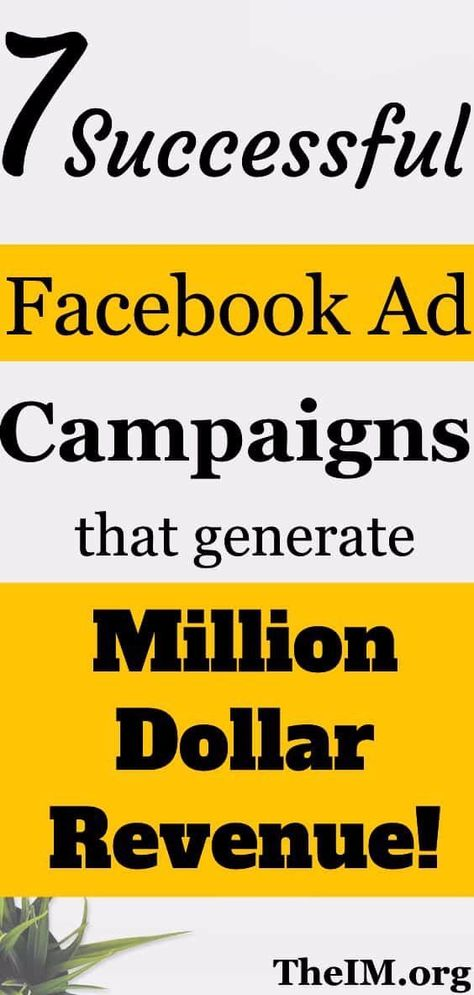 Done For You Facebook AD Templates and Successful Campaigns!