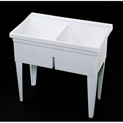 Fiat Floor Mounted Double Laundry Sink Laundry Sink