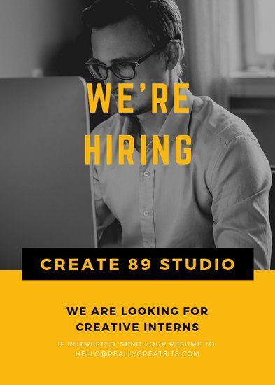 Vacancy Advertisement Job Vacancy Hiring Poster