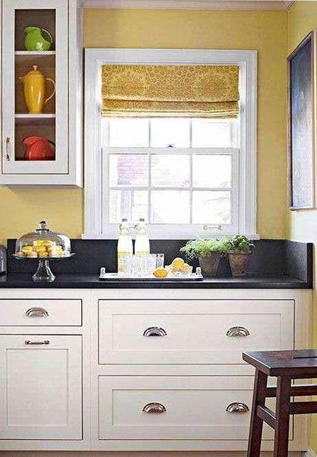 Idee colore pareti cucina | arredo nel 2019 | Cucine giallo ...