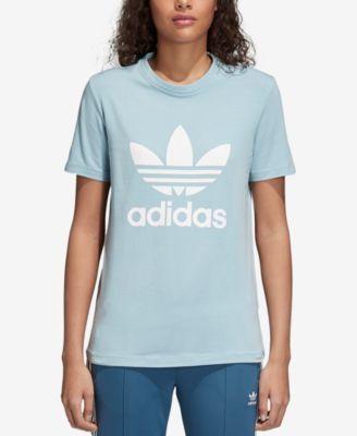 adidas Women's adicolor Cotton Trefoil T Shirt & Reviews