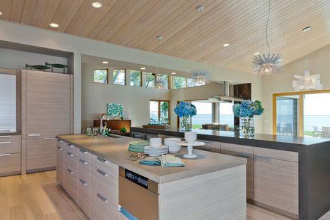 Modern Kitchen Of The Week Crisp Contemporary Neutral Kitchen