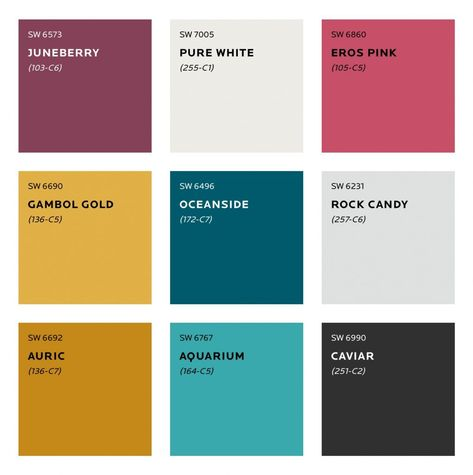 What colours will we be seeing next year? See Sherwin Williams predicted colour trends for Plus sneak peek at the moodboard for S/Y Lazy Kingfisher.