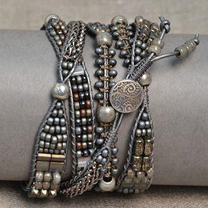 Si jamais vous me laisser Verre Cabochon Tibet Silver Bangle Bracelets Wholesale
