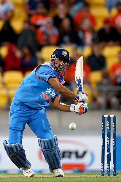 New Zealand V India Odi Game 5 Ms Dhoni Photos Singh World Cricket