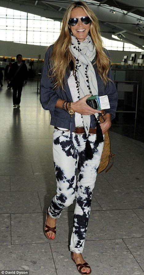 tie dye jeans back in fashion! :-)  check Isabel marant tie dye jeans
