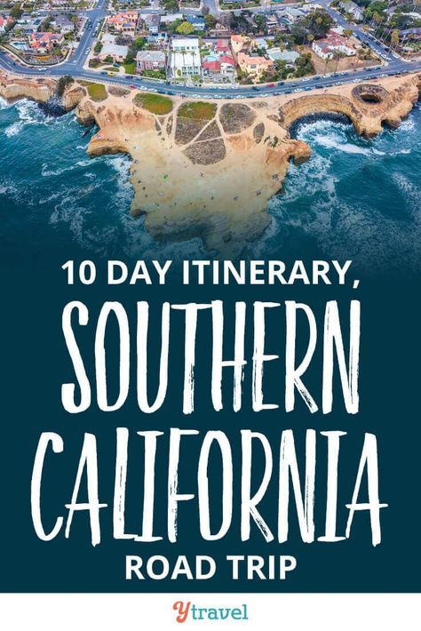 California Road Trip Itinerary.  This 10 day road trip plan includes a list of the best places to visit in Southern California (beyond Disneyland). Tips for San Diego, Orange County and Ventura County. Plus tips on local eats, restaurants and places to eat, hotels, rentals and where to stay, state and national parks, hiking and outdoor adventure, and more.  Best tips for planning a trip to Southern California. #Travel #California #familytravel #traveltips #vacation #traveling