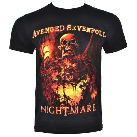 Avenged Sevenfold Reaper Reach Death Bat Girls Juniors Shirt New Official