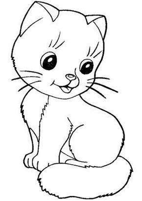 Dibujos Para Colorear Gatos Para Ninos Colouring Cats Colouring