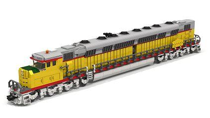 Lego Bnsf Train