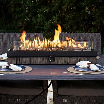 Northwoods Decorative Table Top Fire Patio Table Top Fire Pit