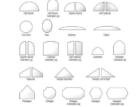 window shapes