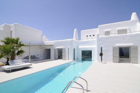 Maison D Ete Dans Les Cyclades Maison Grecque Maison Tunisie Et