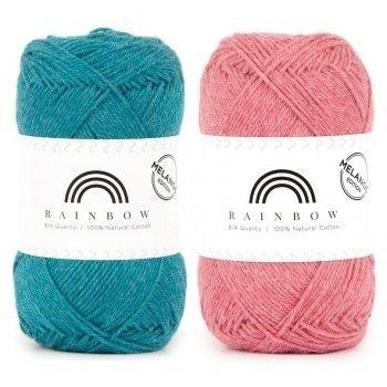Rainbow Cotton 8 4 Melange From Hobbii Crochet Patterns Crochet