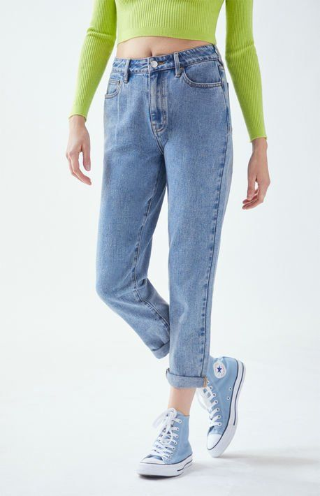 Pacsun Medium Mom Jeans At Pacsun Com Blue Mom Jeans Women Jeans Mom Jeans