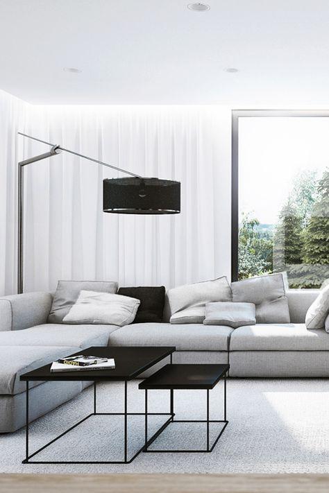 wandgestaltung grau wohnzimmer design sofa sessel teppich - wohnzimmer dekoration grau