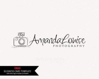 Logotipo de la fotografía plantilla de Photoshop por AquariusLogos