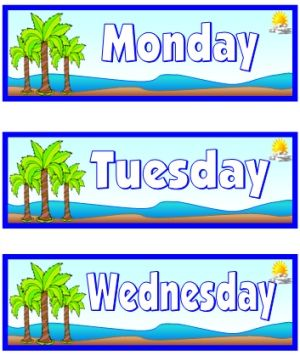 38 Awesome Days Of The Week Calendar Clipart Calendar Clipart Clip Art Art Wallpaper