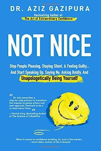 Not Nice Stop People Pleasing Staying Silent Feeling Guilty