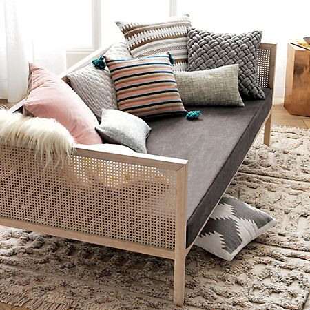 Boho Daybed New Home In 2019 Rattan Sofa Styling
